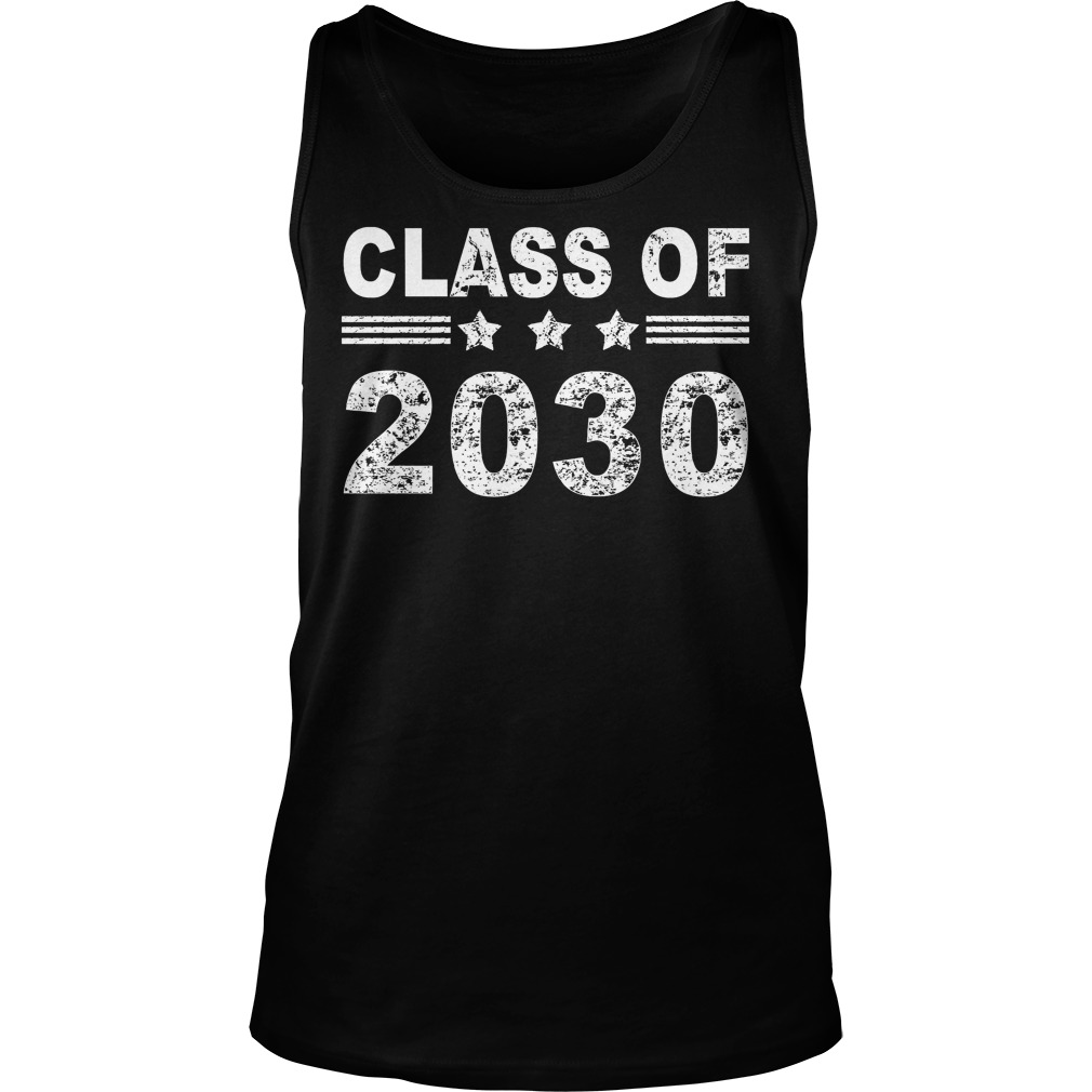 Class of 2030 tank top