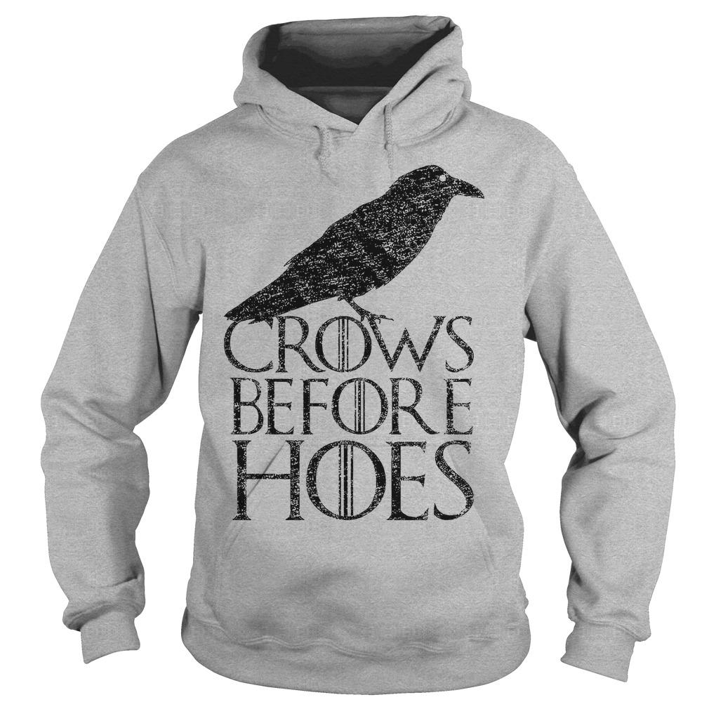 Crows Before Hoes hoodie