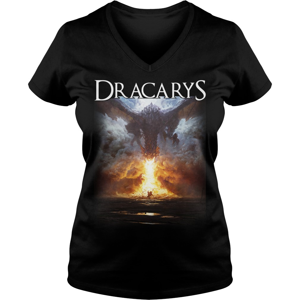 Dracarys V-neck t-shirt