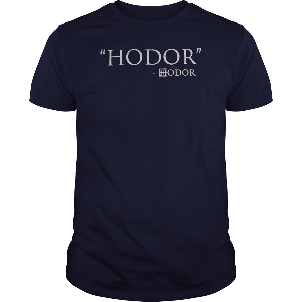 hodor game of thrones guy shirt