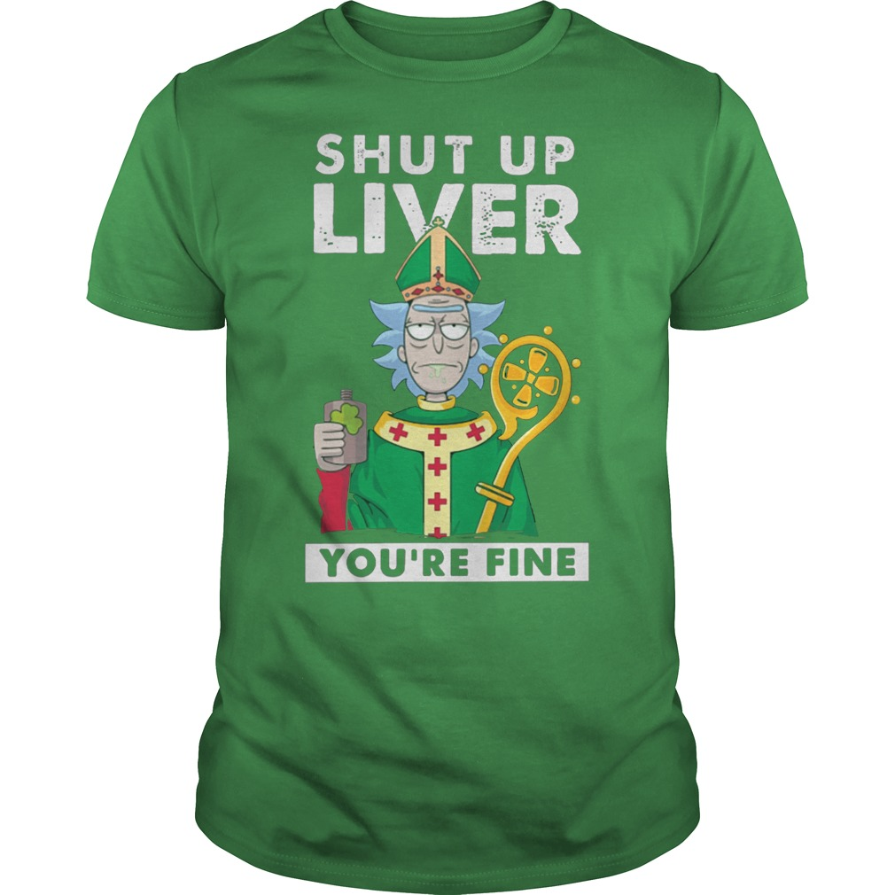 Best 2018 rick and morty shirt and hoodie for St Patrick day