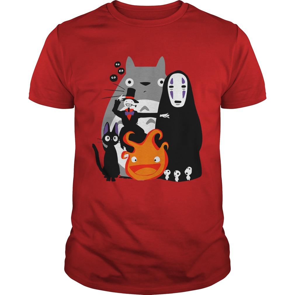 Ghibli my neighbor Totoro shirt
