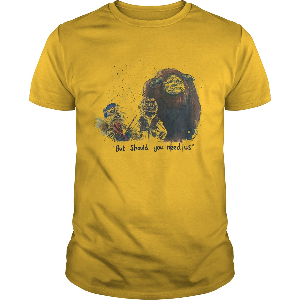 Labyrinth - But should you need us shirt