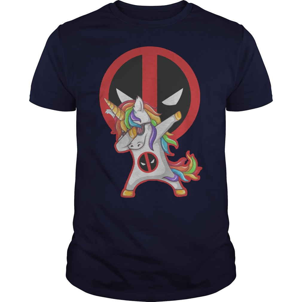 Deadpool Unicorn Dabbing shirt