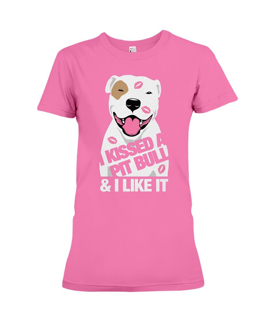I kissed a pit bull and I like it shirt