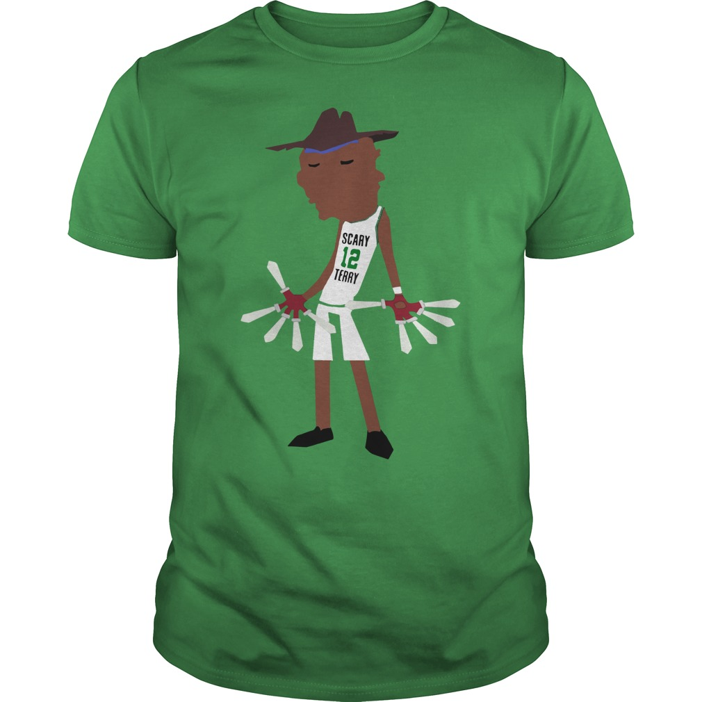 It's scary Terry Rozier bitch shirt