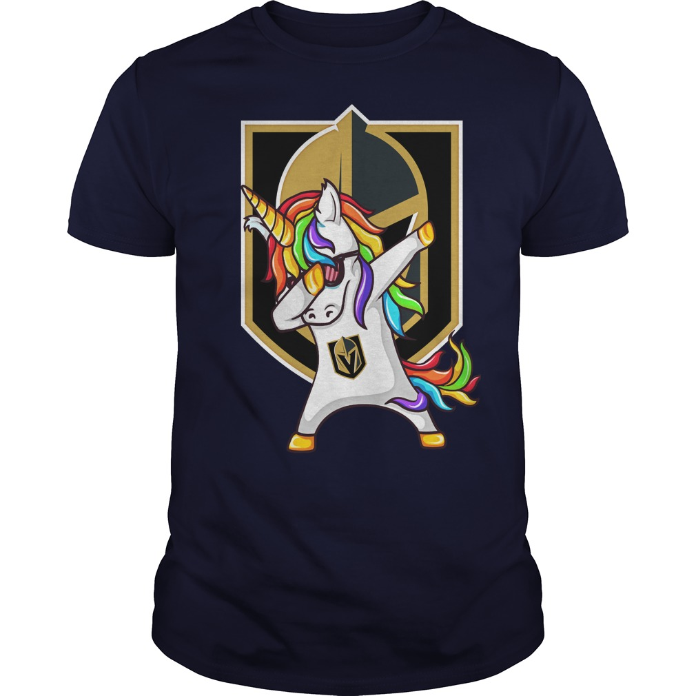 Unicorn dabbing Vegas Golden Knights shirt