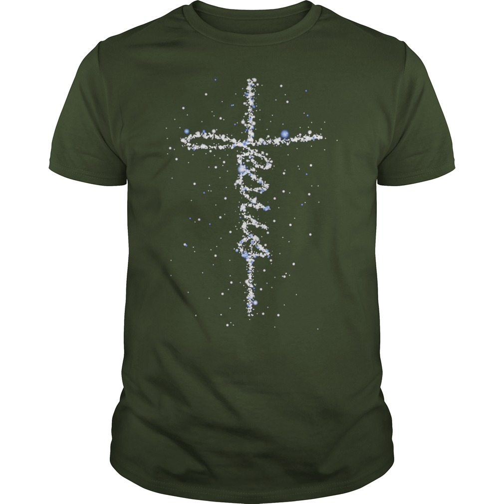 Jesus Cross Galaxy shirt