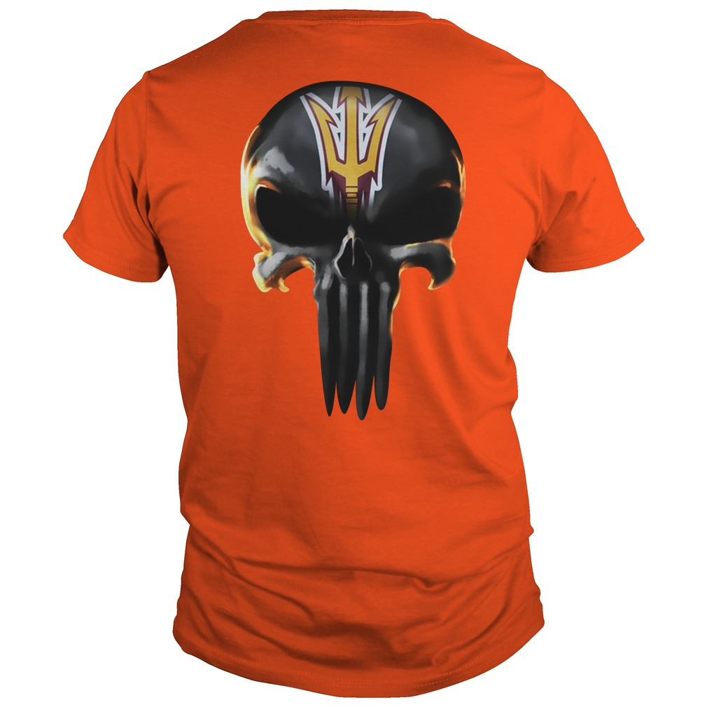Punisher Arizona State Sun Devils shirt