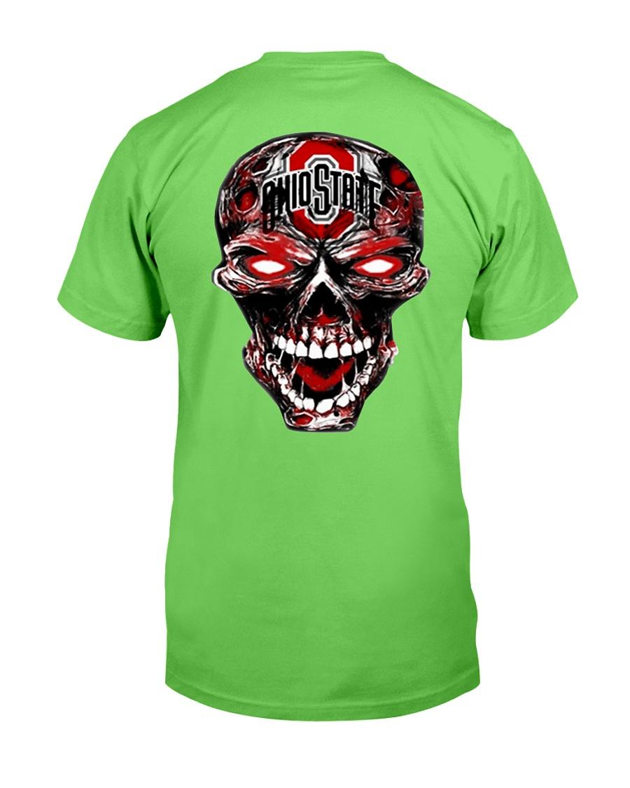 Skull Ohio State football shirt