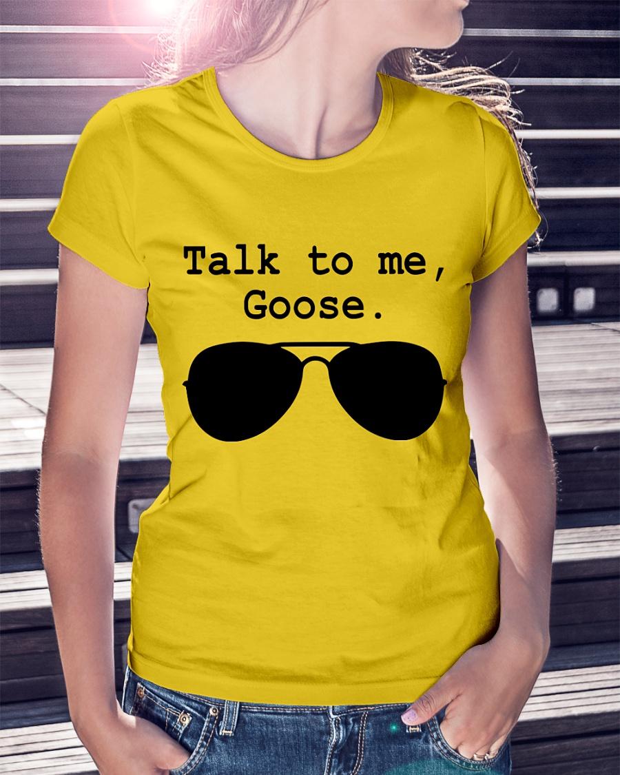 Talk to me, Goose. Sunglasses shirt