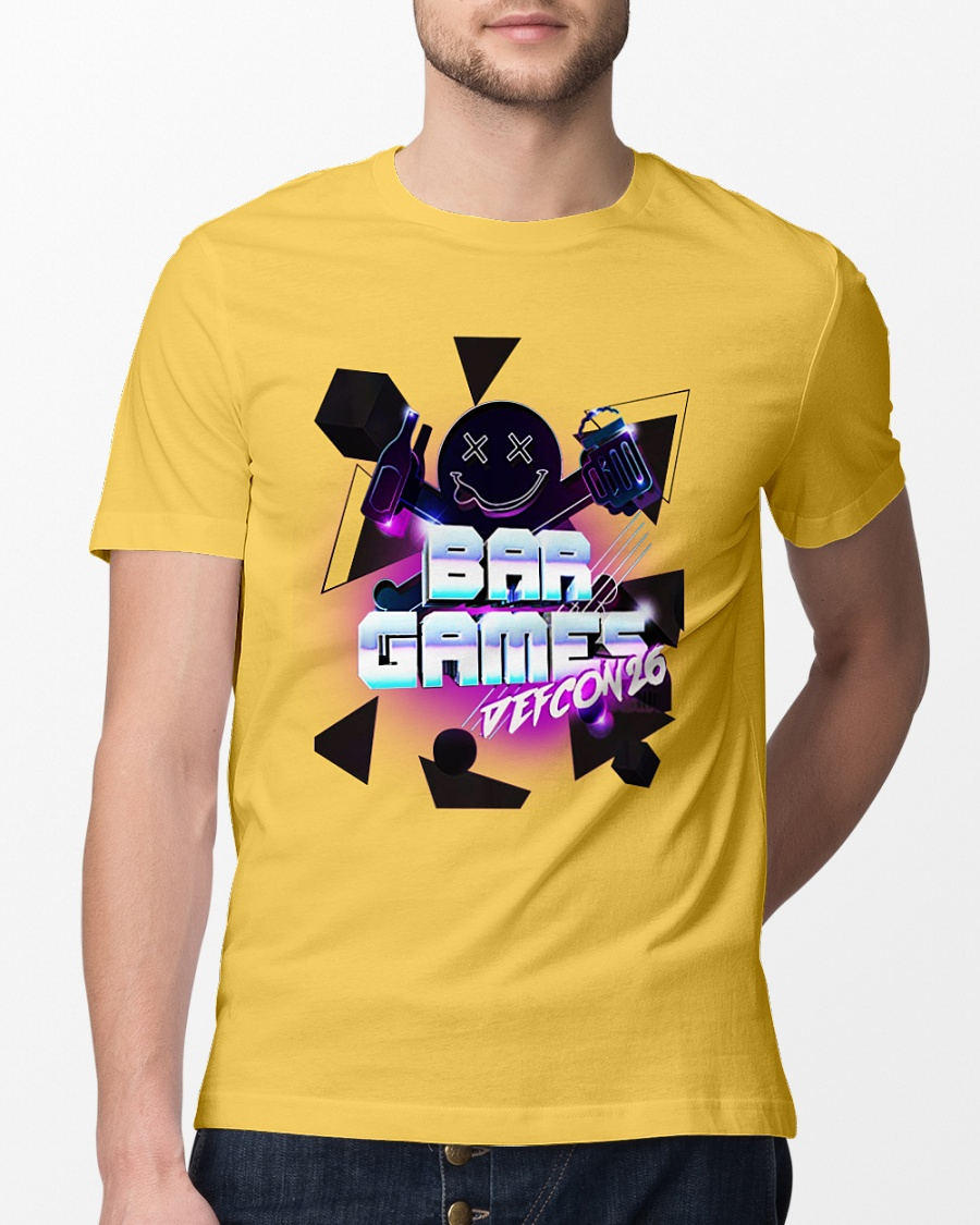 2018 bar game defcon parties shirt
