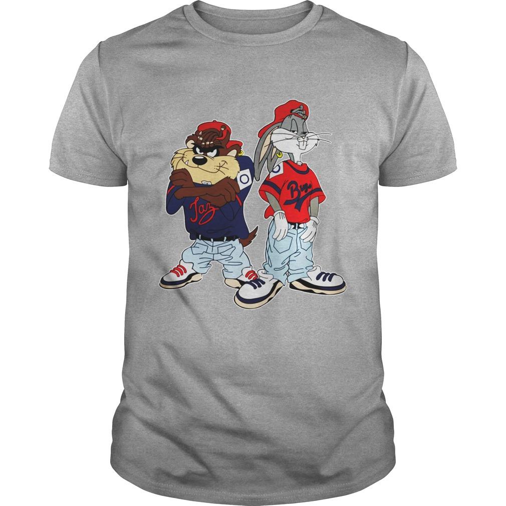 90s Hip Hop Kriss Kross Bugs Taz shirt