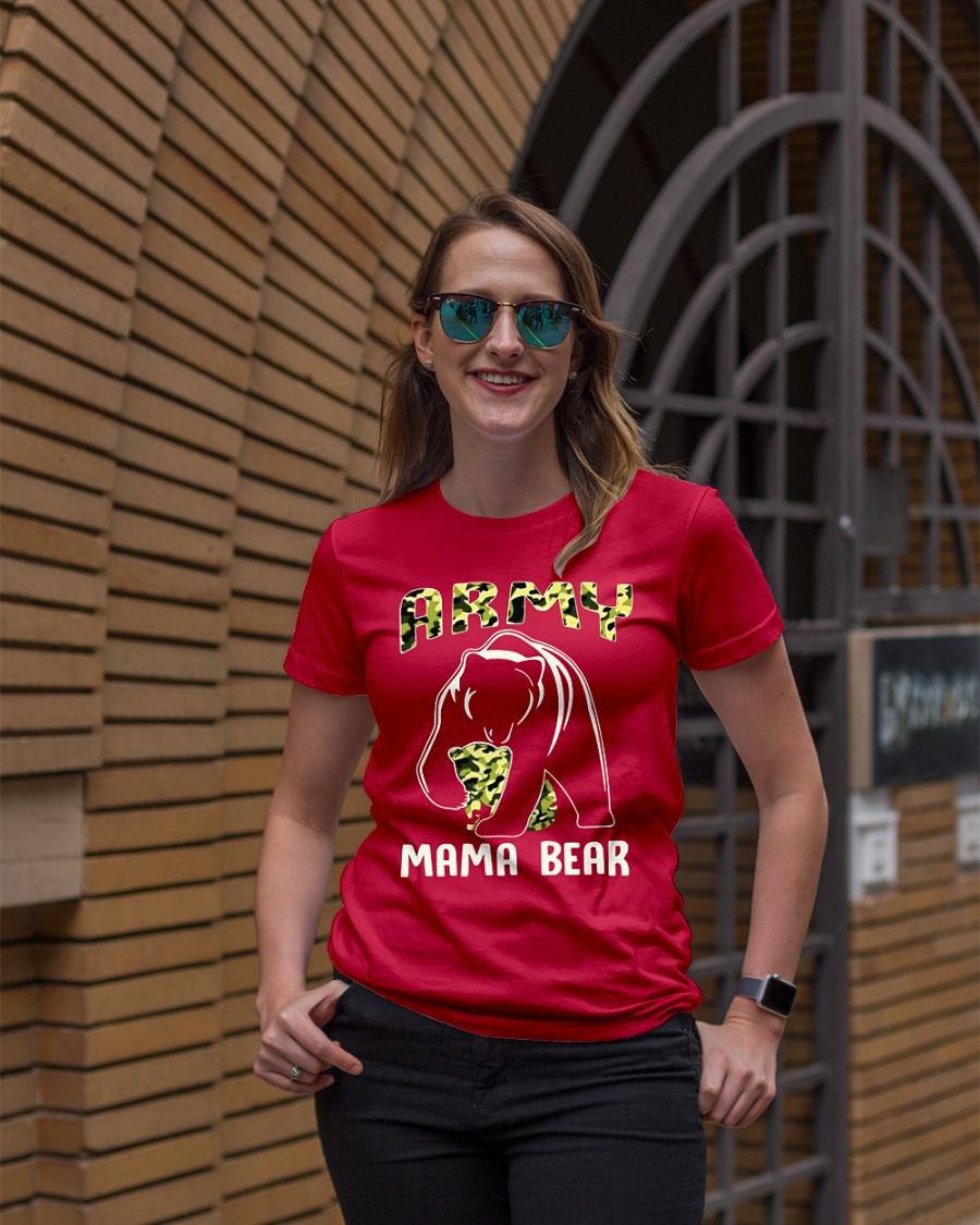 Army Mama Bear shirt