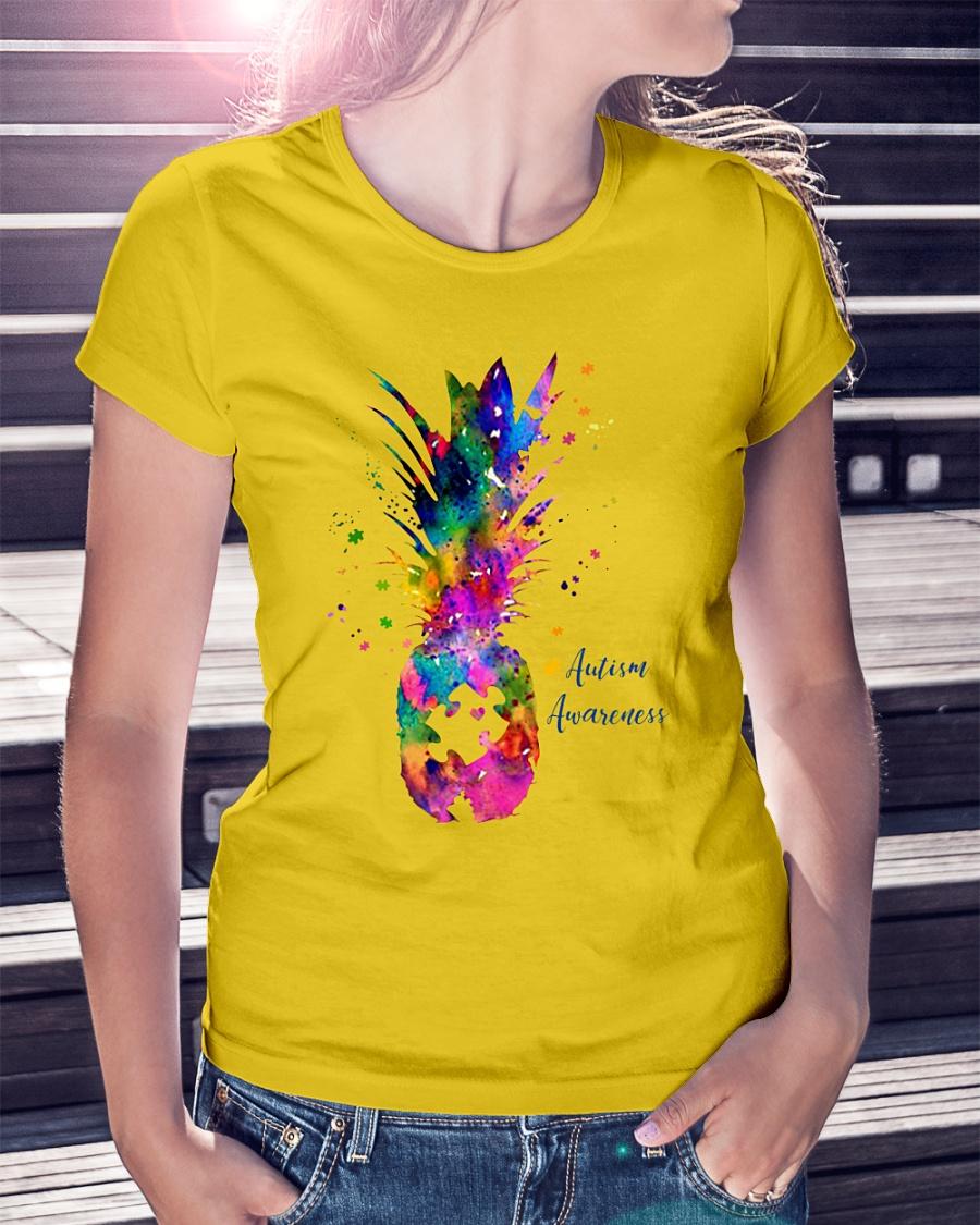 Pineapple Autism Awareness shirt