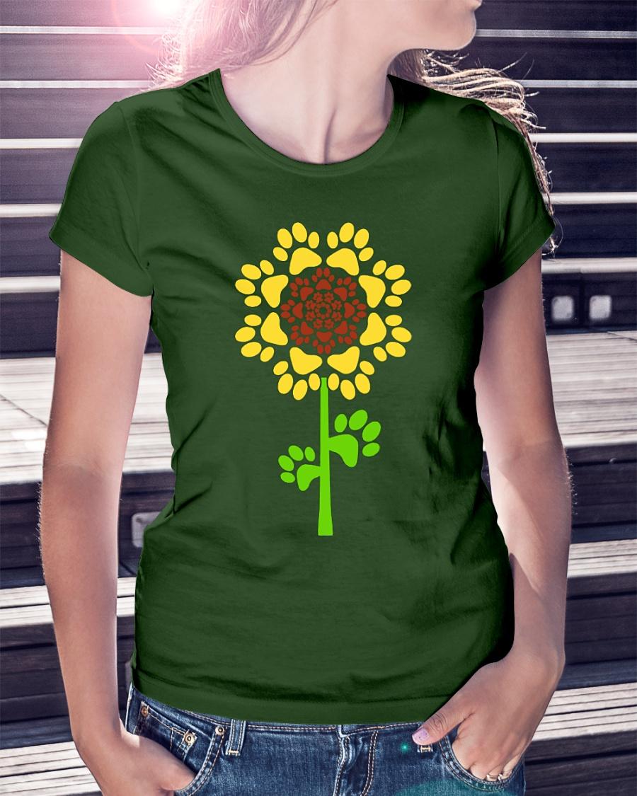 Sunflower Dog Paw shirt
