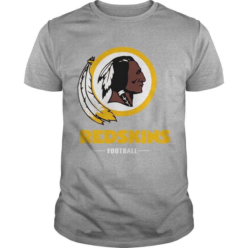 Redskins football team logo shirt