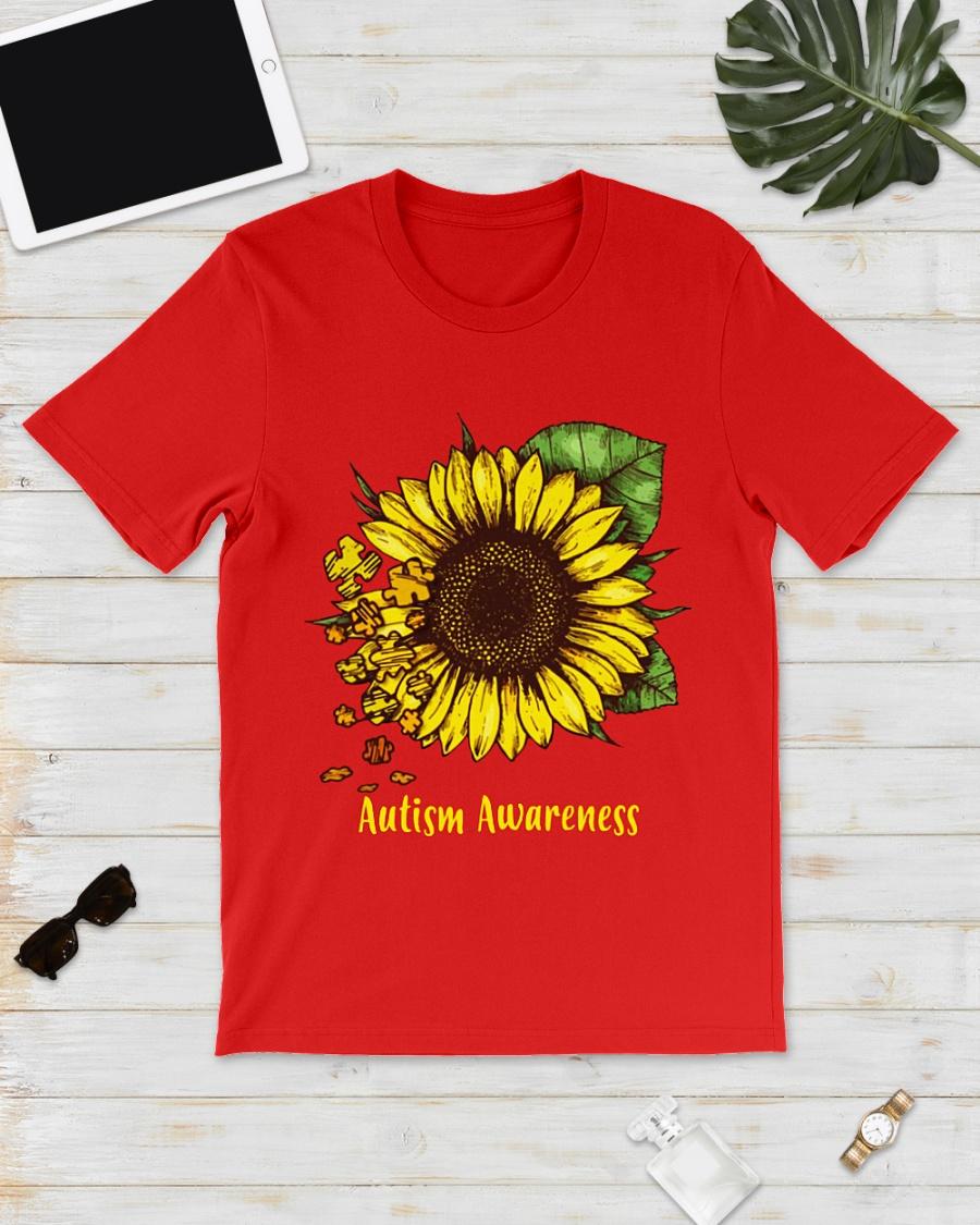 Sunflower autism awareness shirt