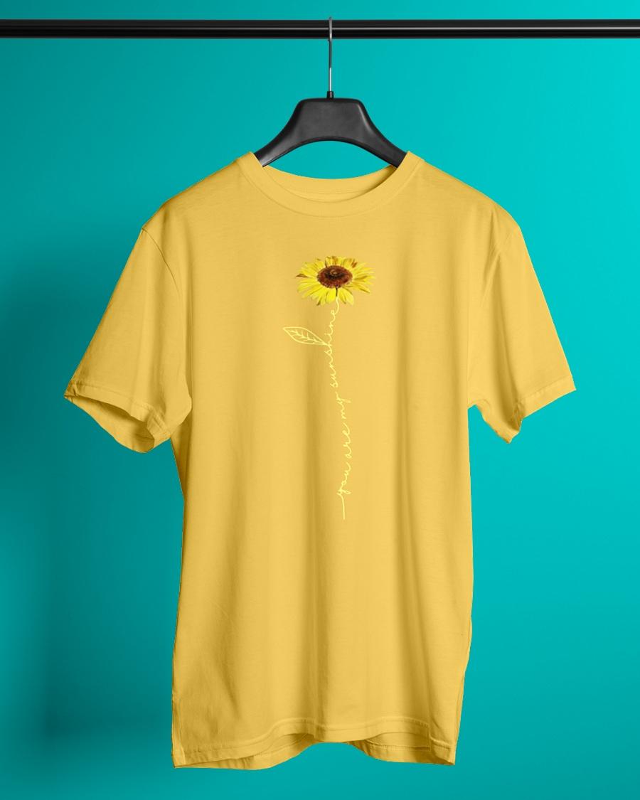 Sunflower you are my sunshine shirt