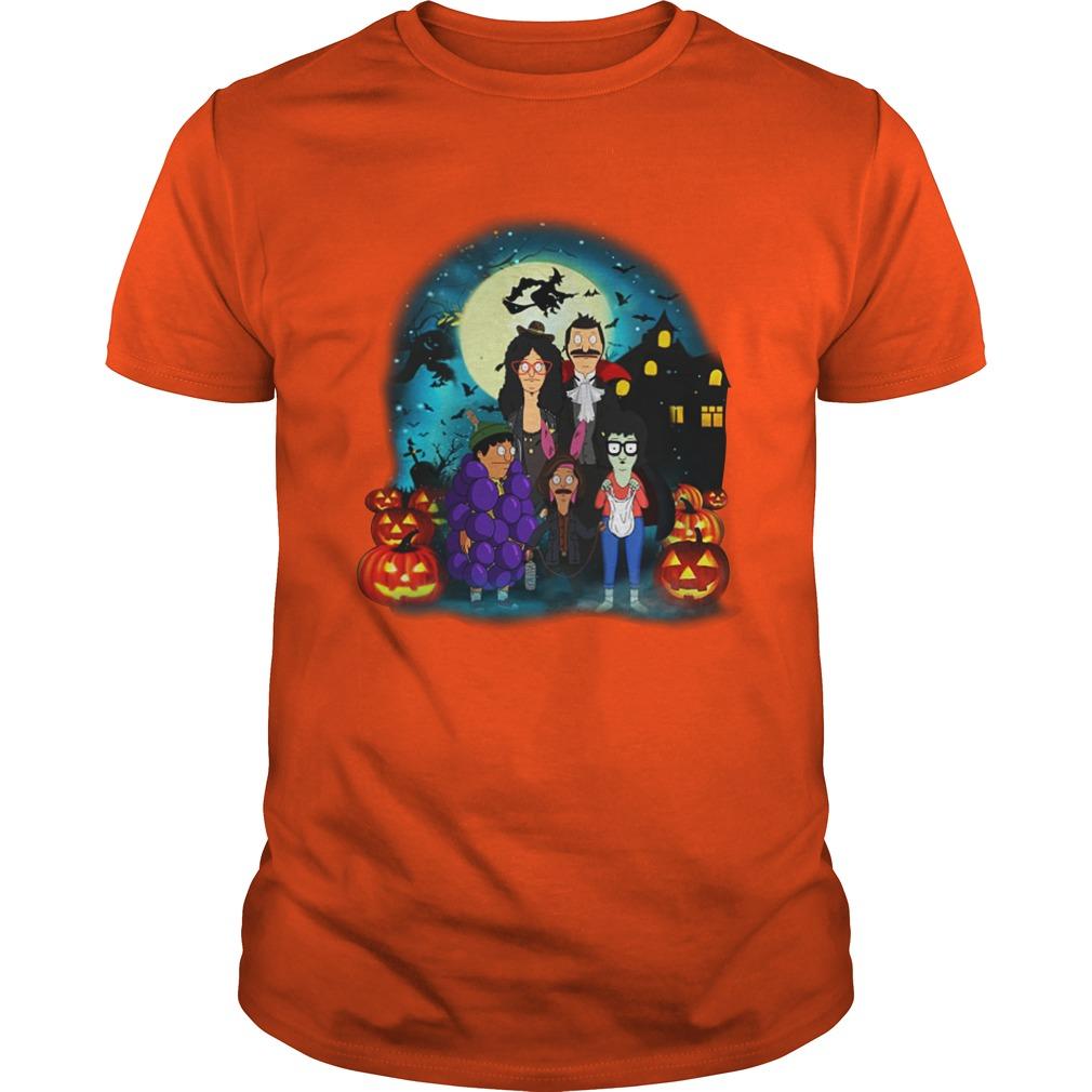Bob's Burgers Belcher Family Halloween Pumpkins shirt