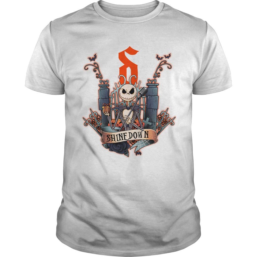 Jack Skellington Shinedown shirt