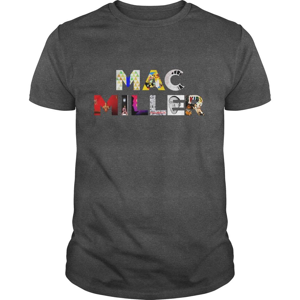 Mac Miller All Albums Keep Memories About Him Alive shirt
