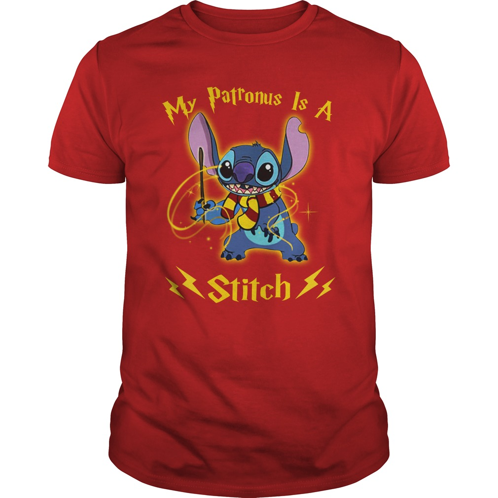 My Patronus is a Stitch shirt