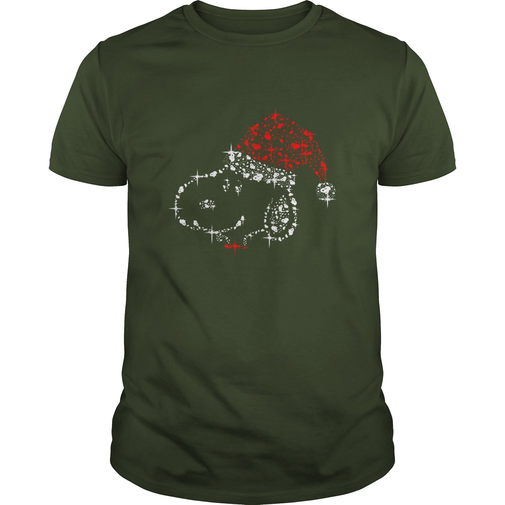Snoopy Christmas Glitter shirt