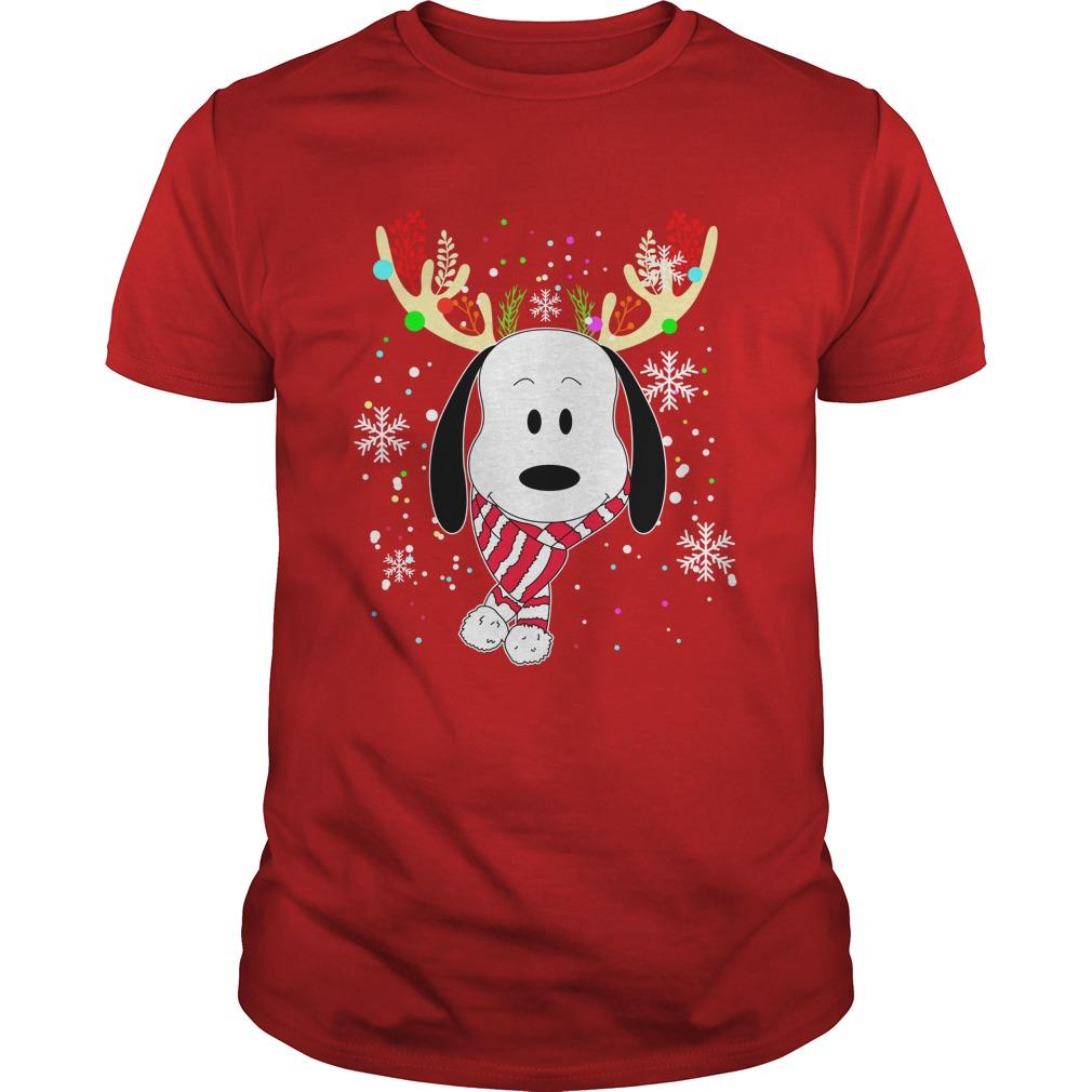 Snoopy Reindeer Christmas shirt