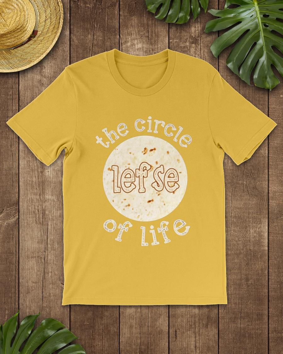 The circle lefse of life shirt
