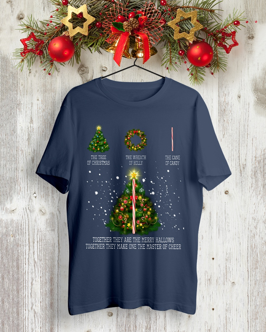 Together They Are Merry Hallows Together They Make One The Master of Cheer shirt