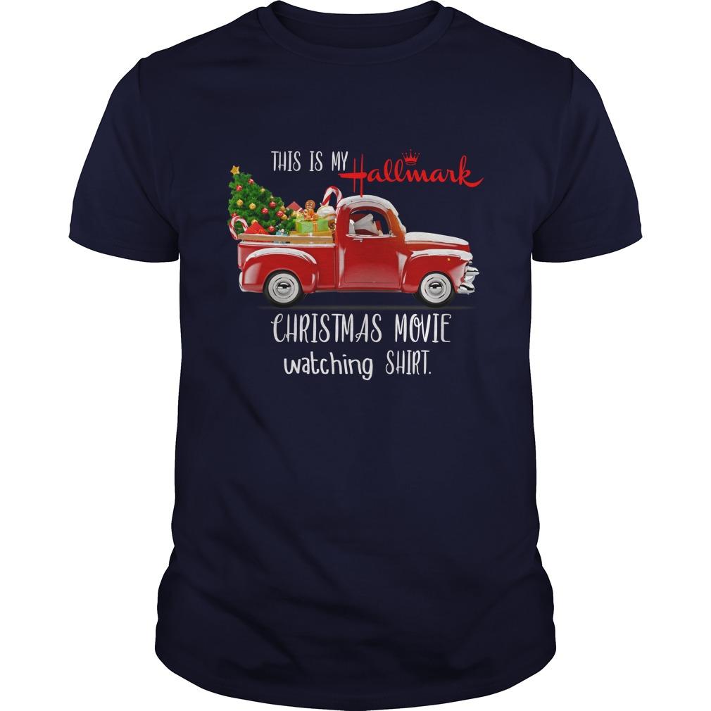 Vintage Truck This Is My Hallmark Christmas Movie Watching Shirt