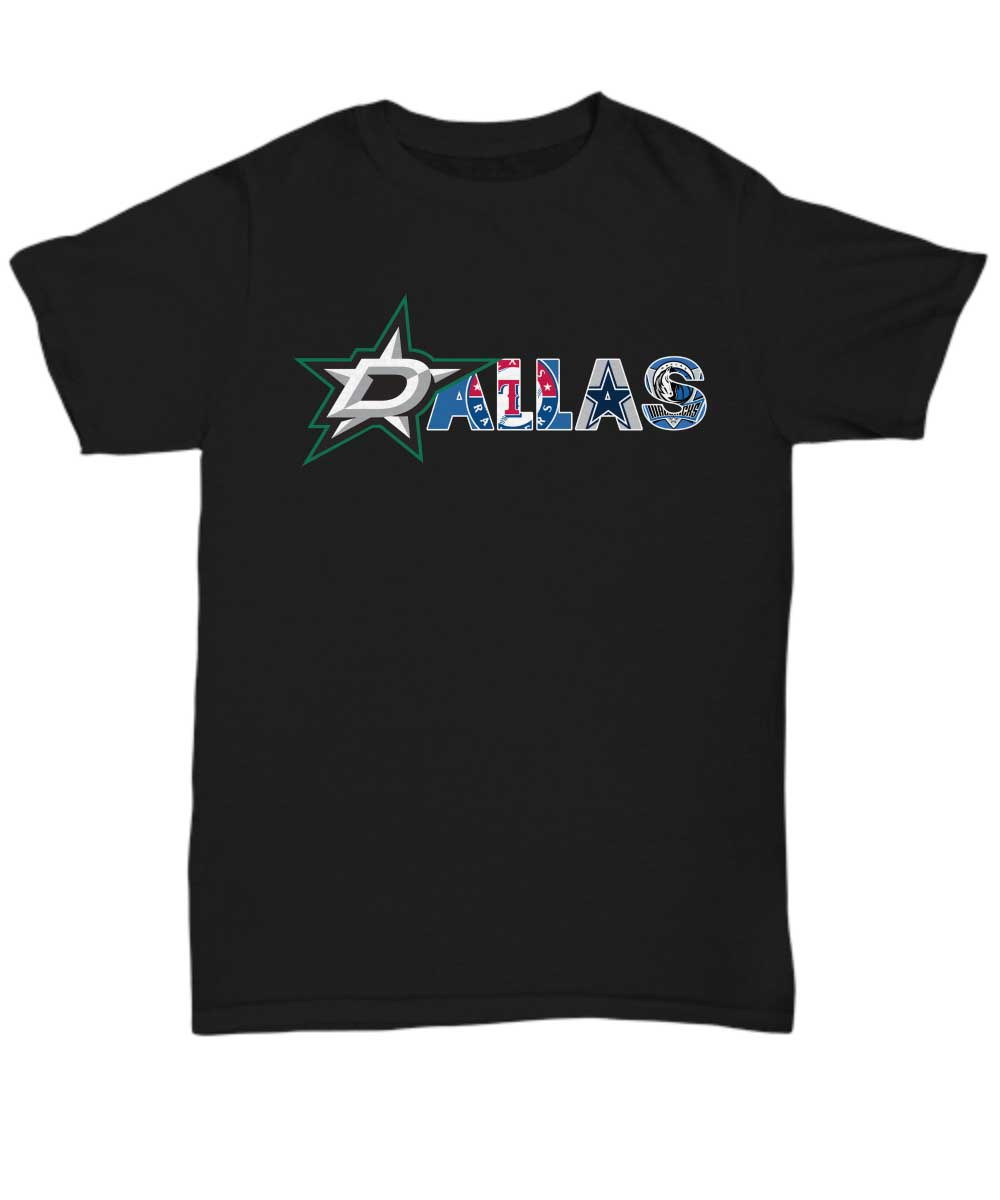 All Dallas sports teams unisex shirt