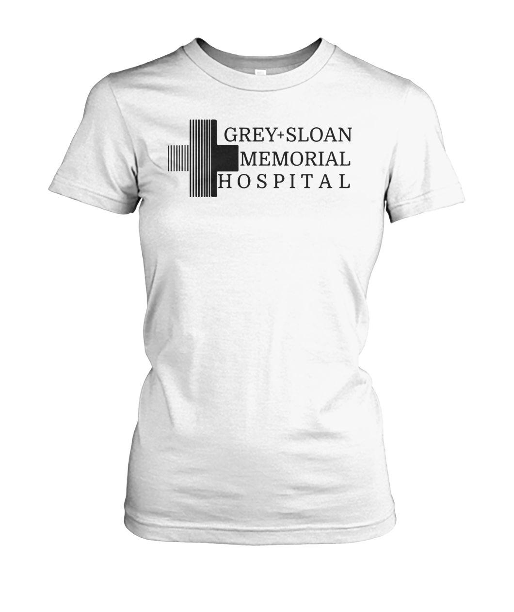 Grey Sloan Memorial hospital logo women shirt