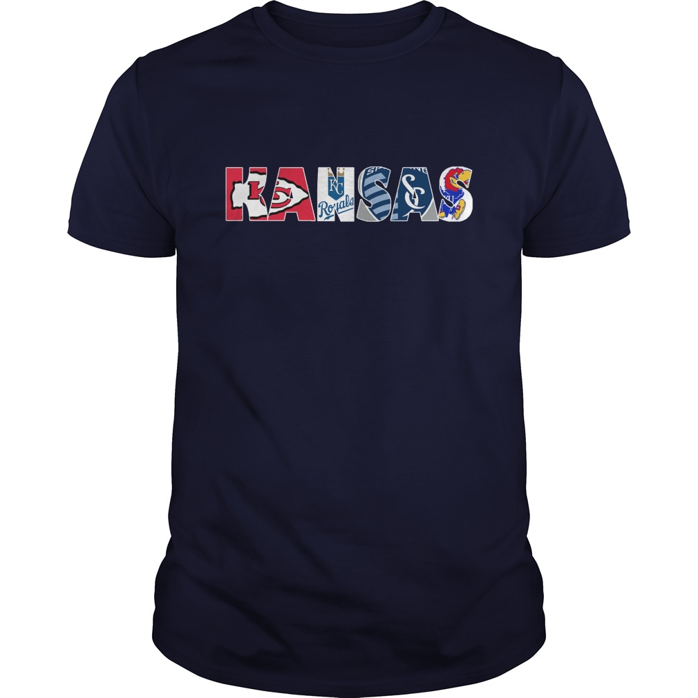Kansas Sports Teams Logos shirt
