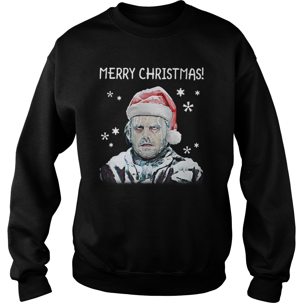 Merry Christmas The Shining Johnny sweatshirt