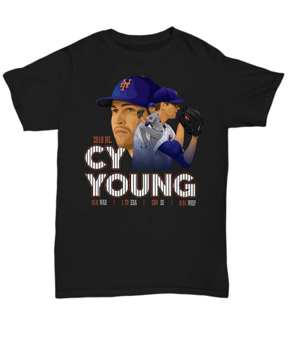 New York Mets 2018 NL CY Young unisex shirt