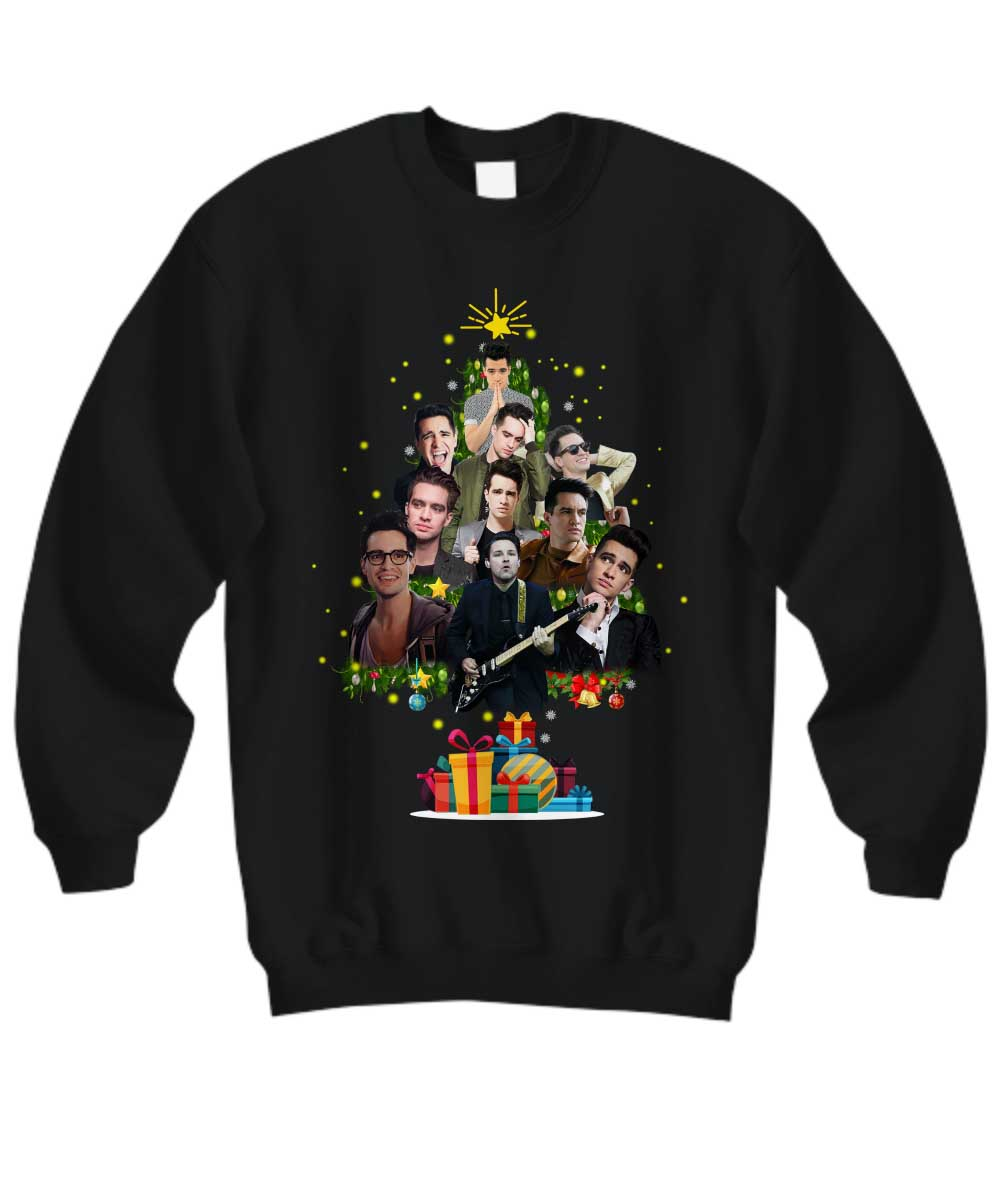 Panic At The Disco Christmas Tree sweatshirt