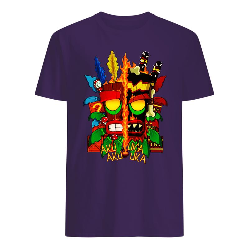 Aku Uka Aku Uka Crash Bandicoot shirt