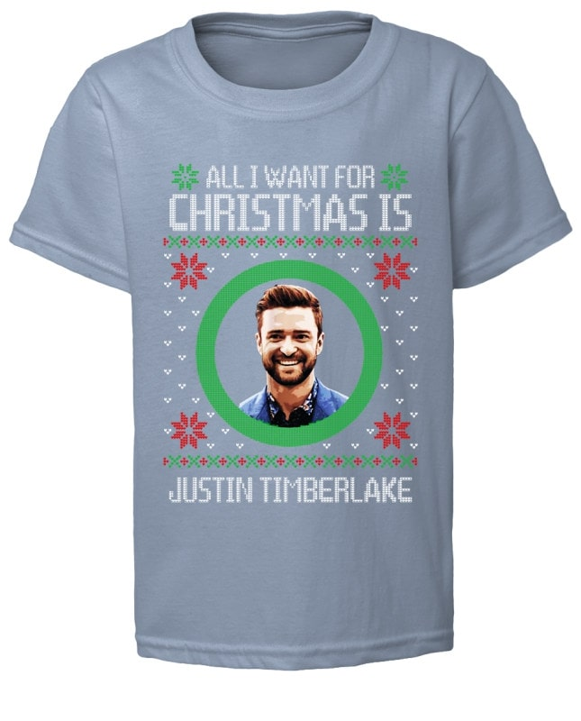 All I Want for Christmas Justin Timberlake shirt