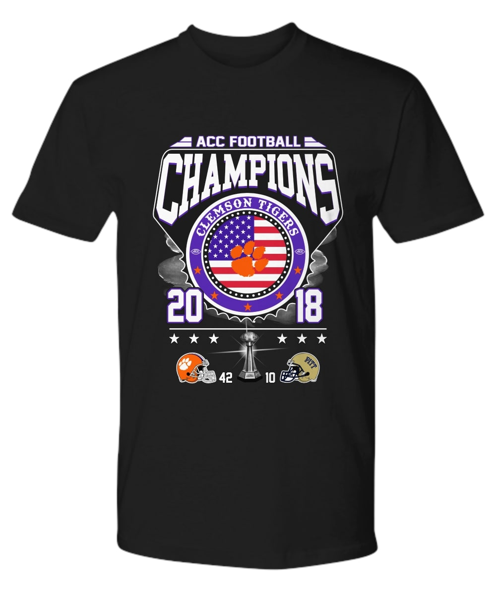 Clemson Tigers Acc Football Champions 2018 shirt