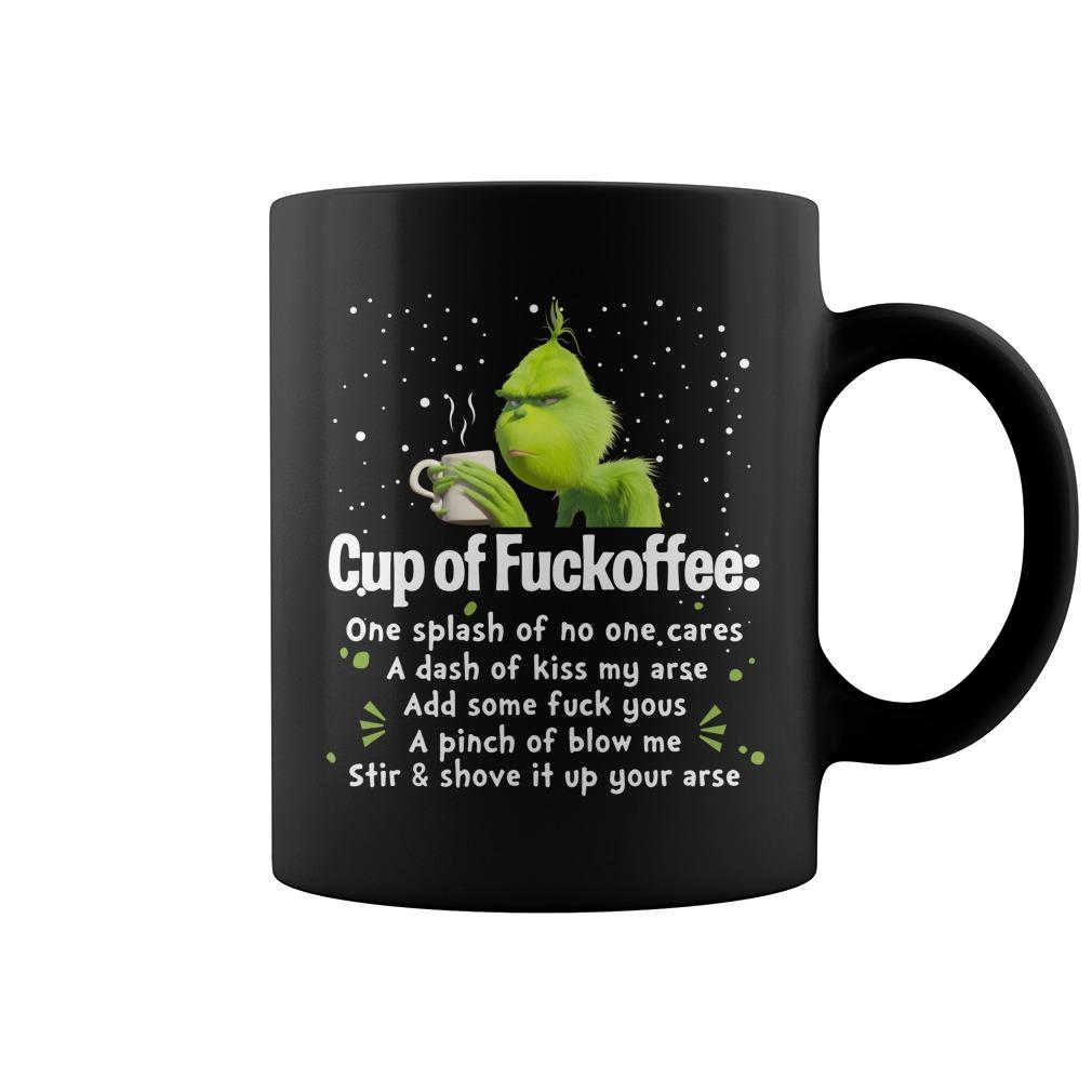 Grinch Cup of Fuckoffee mug