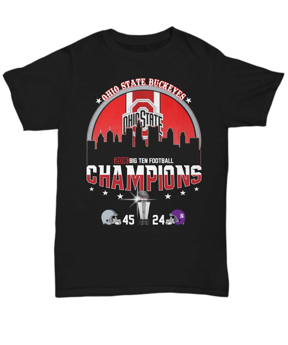Ohio State Buckeyes champions 45-24 Northwestern Wildcats unisex shirt