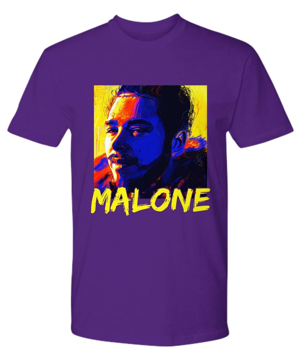 Post Malone Canvas Painting shirt