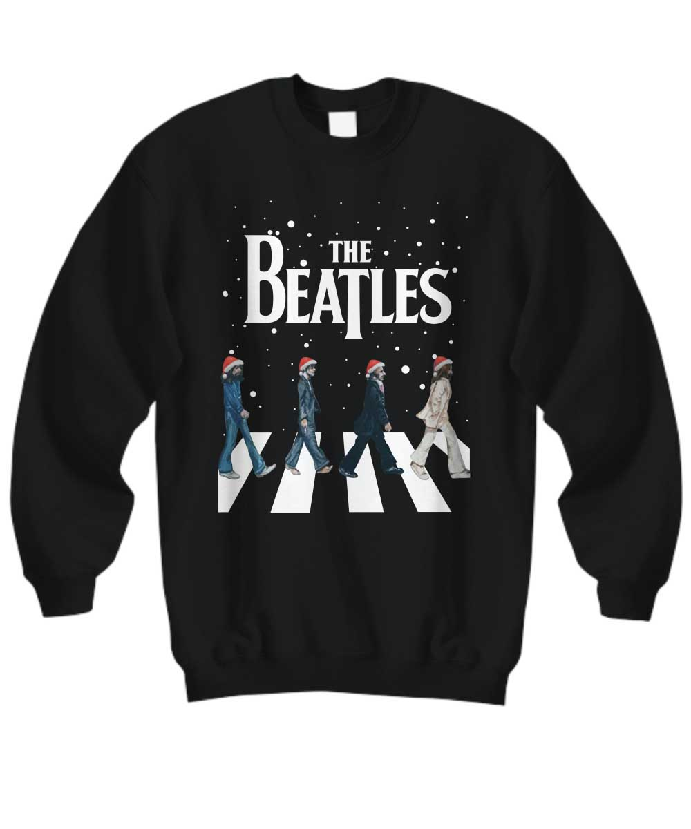 The Beatles Walking Across Abbey Road Christmas shirt