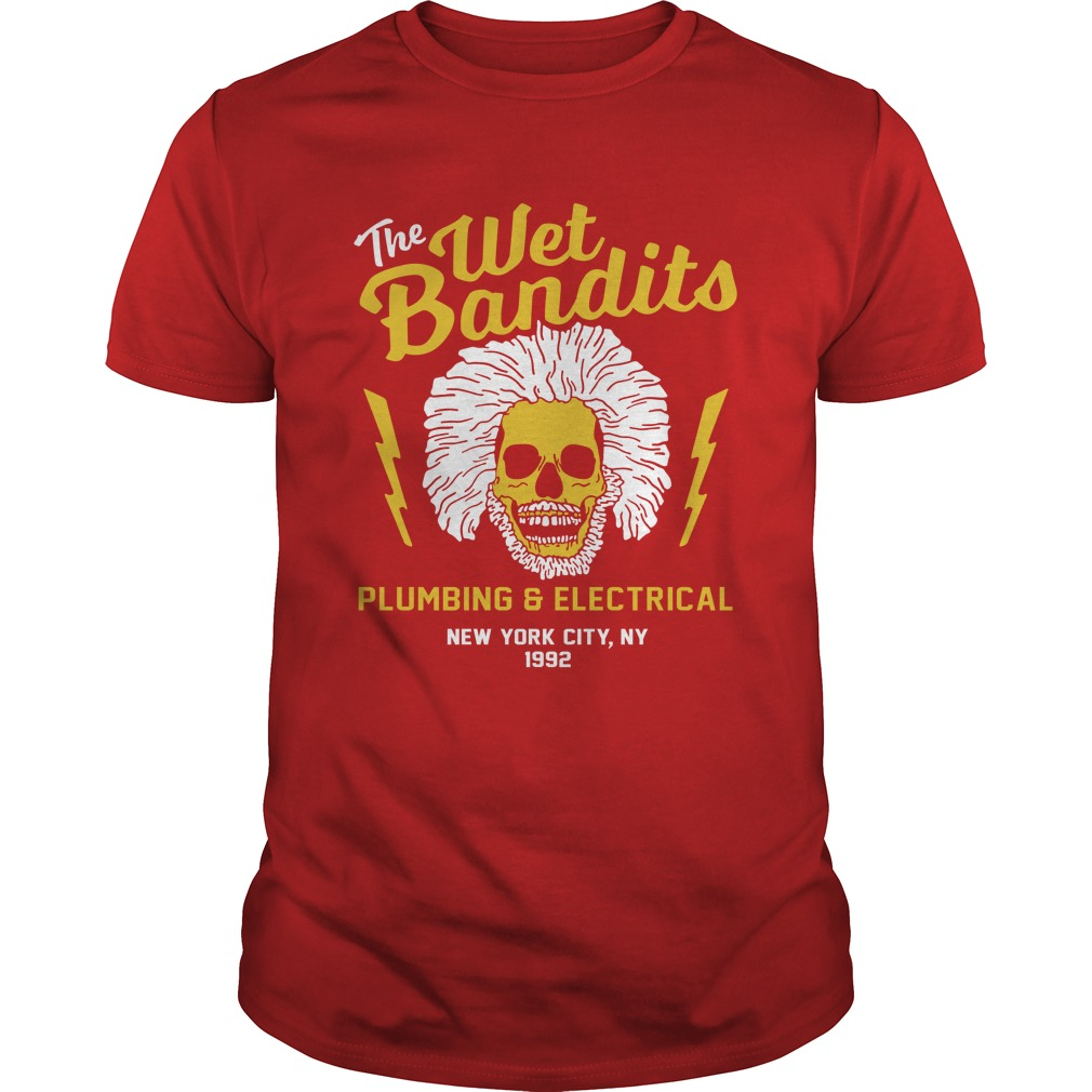 The Wet Bandits Plumbing and Electrical shirt