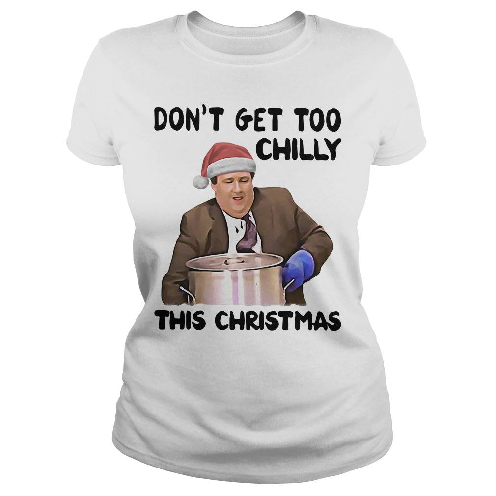 Kevin Malone Don't Get Too Chilly This Christmas Shir
