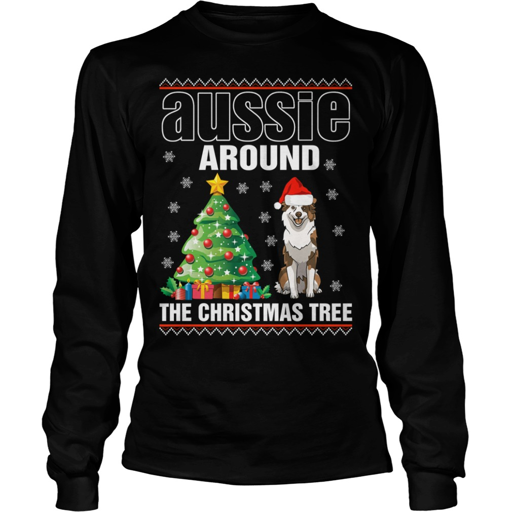 Official Aussie Around The Christmas Tree Shirt