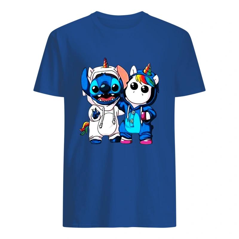 Baby Stitch and Unicorn shirt