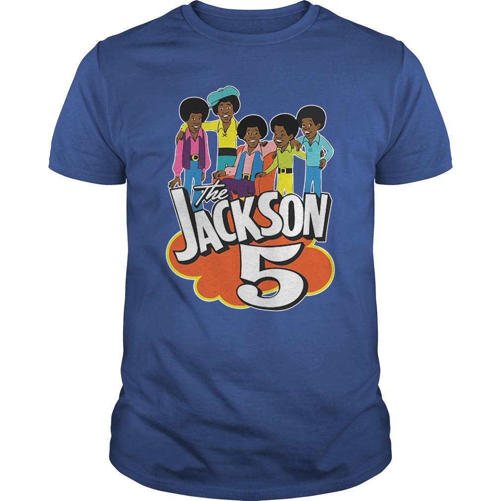 The Jackson 5 70's Cartoon shirt